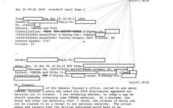 El proyecto Venona, el espionaje estadounidense contra los rusos