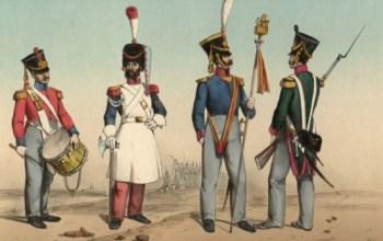 Estatura mínima para ser soldado español