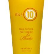 It's a 10 five minute hair repair