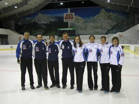 Curling mania a Corvara 2006