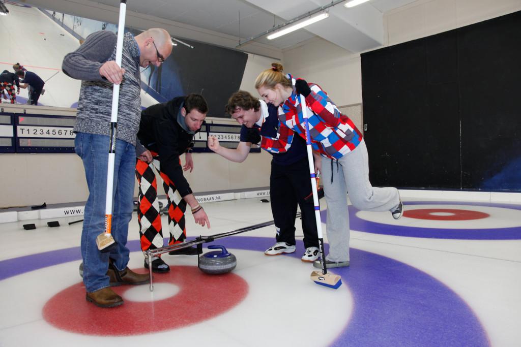 Curling meting Curlingbaan Zoetermeer