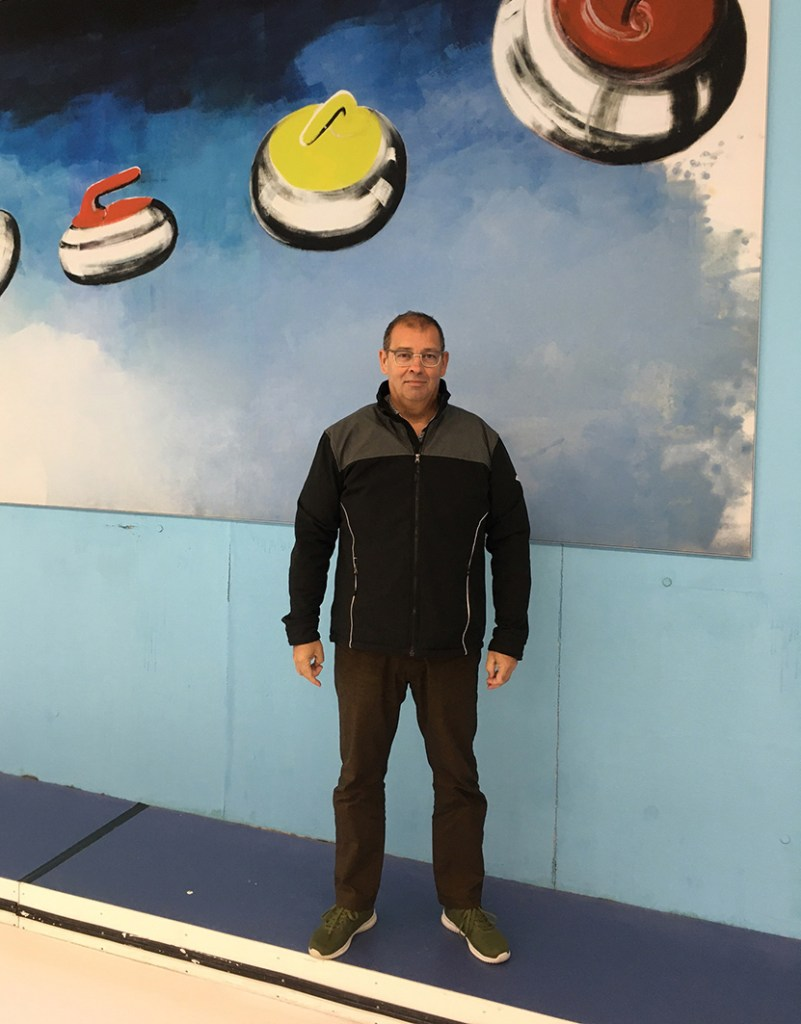 Marcel de Roo manager Curlingbaan Zoetermeer