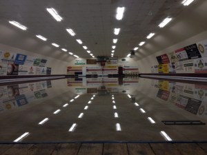 reflected curling surface