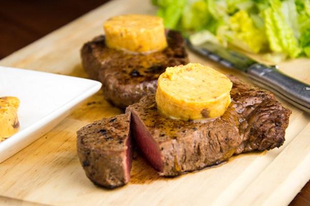 Biefstuk met cafe-de-Paris boter