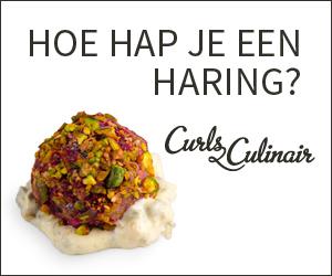 CurlsCulinair Banner Hoe hap je een haring?