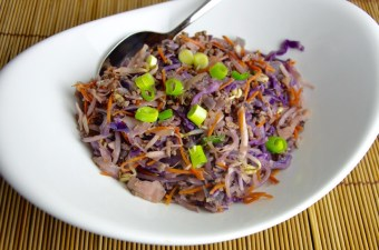 Koolhydraatarm recept Vietnamese loempiabowl