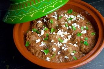 Leuke recepten Tajine met lamsgehaktballen