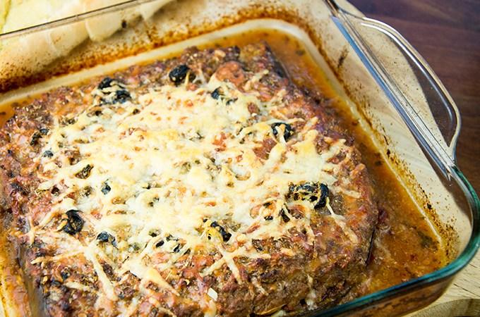 Recept Aubergine lasagne