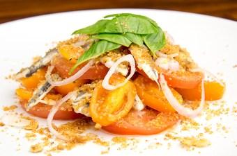 Recept Boquerones met tomaat