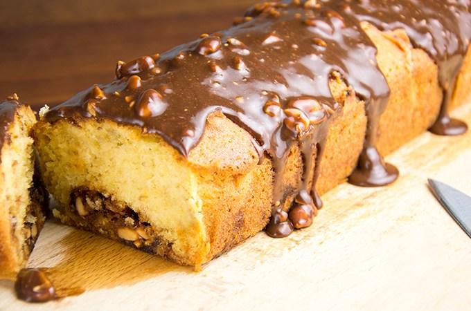 Cake Recept met Snickers