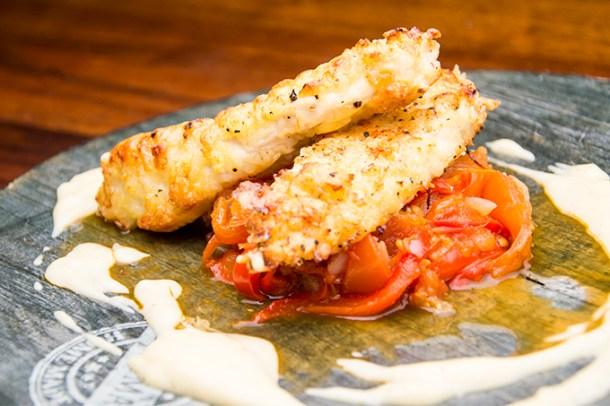 Recept Manchego kip met piperade en aioli