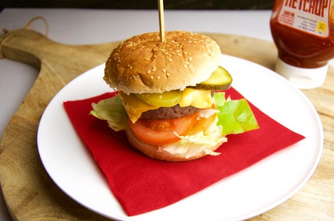 Recept McDonalds cheeseburger