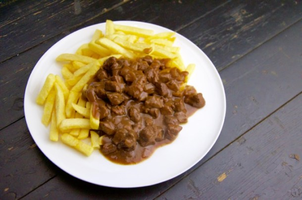 Recept Patatje stoofvlees