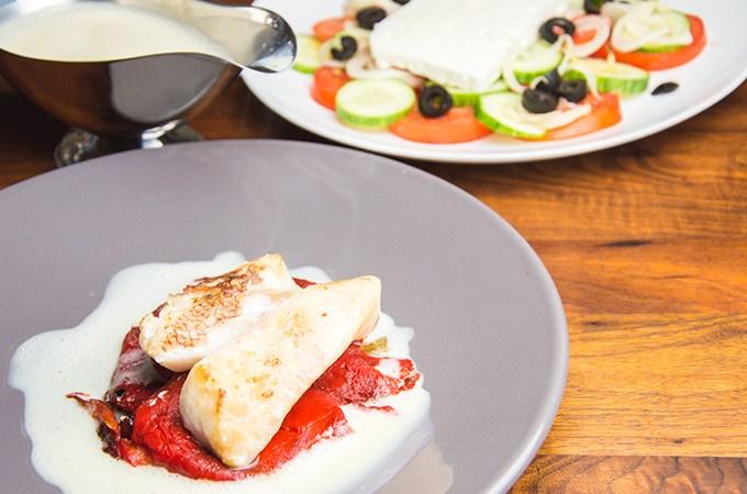 Recept Roodbaars met Citroen-ei saus
