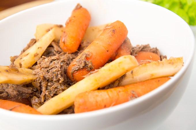 Recept Stoofvlees met wortel en pastinaak