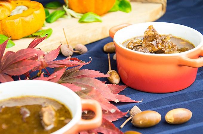 Sukade stoofpot met abdijbier
