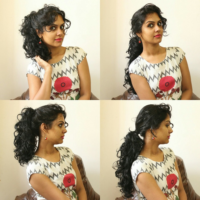 Simple Daily Hairstyles For Curly Hair Simple Hair Style
