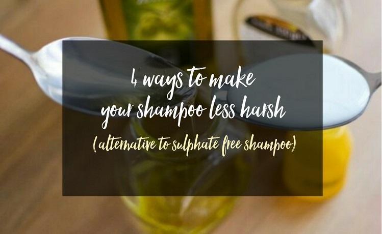 shampoo sulphate shampoos curlsandbeautydiary harsh alternative less ways curly