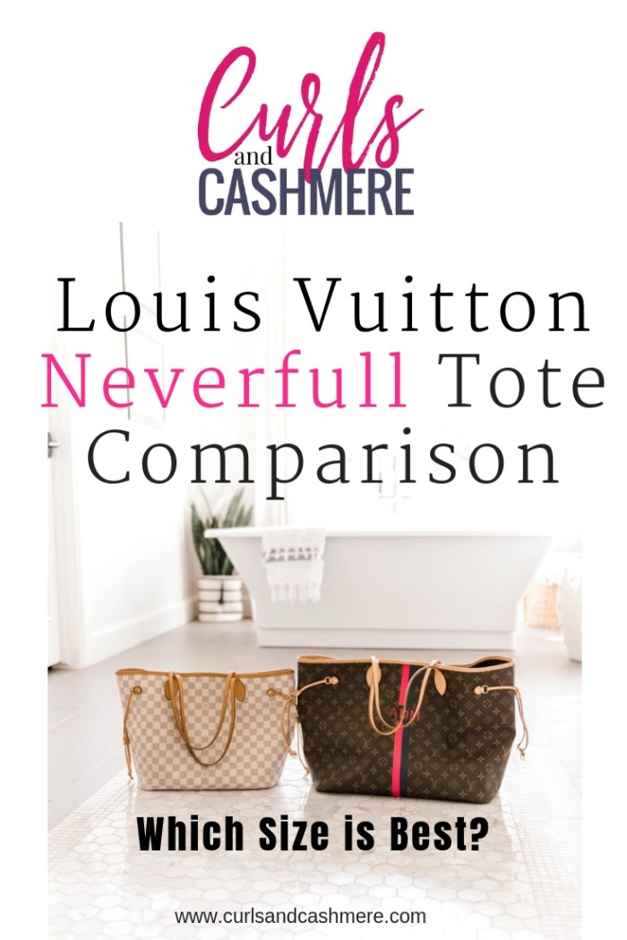 Louis Vuitton Neverfull Tote Size--GM vs. MM Comparison  5cc02c4089719