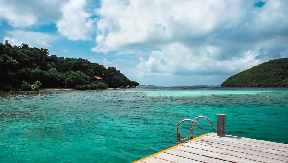 Les ilets du robert - ilet madame -Martinique - les fonds blancs - baignoire de joséphine - les îlets du robert