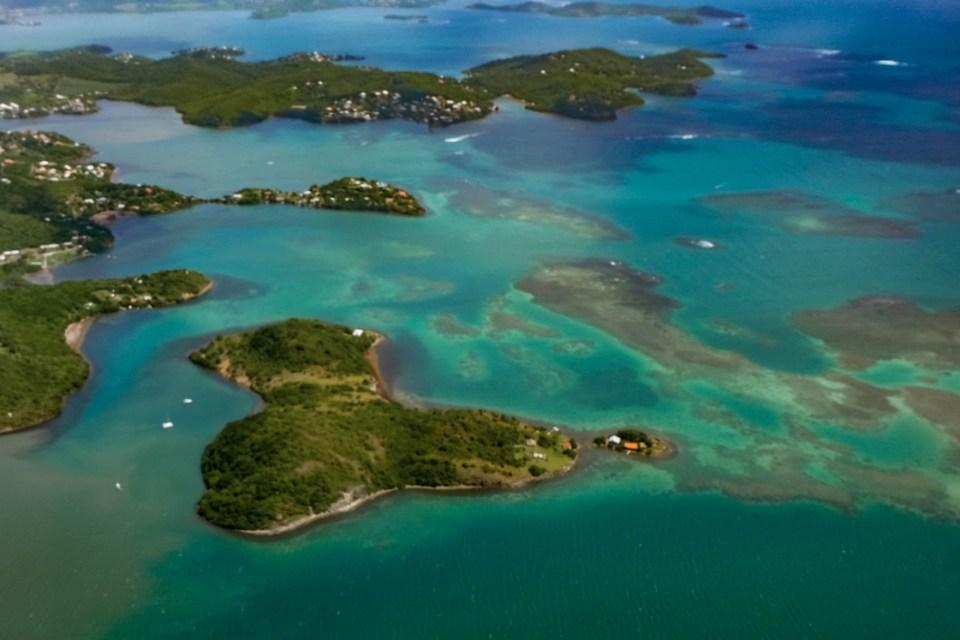 Martinique - les fonds blancs - baignoire de joséphine - les îlets du robert