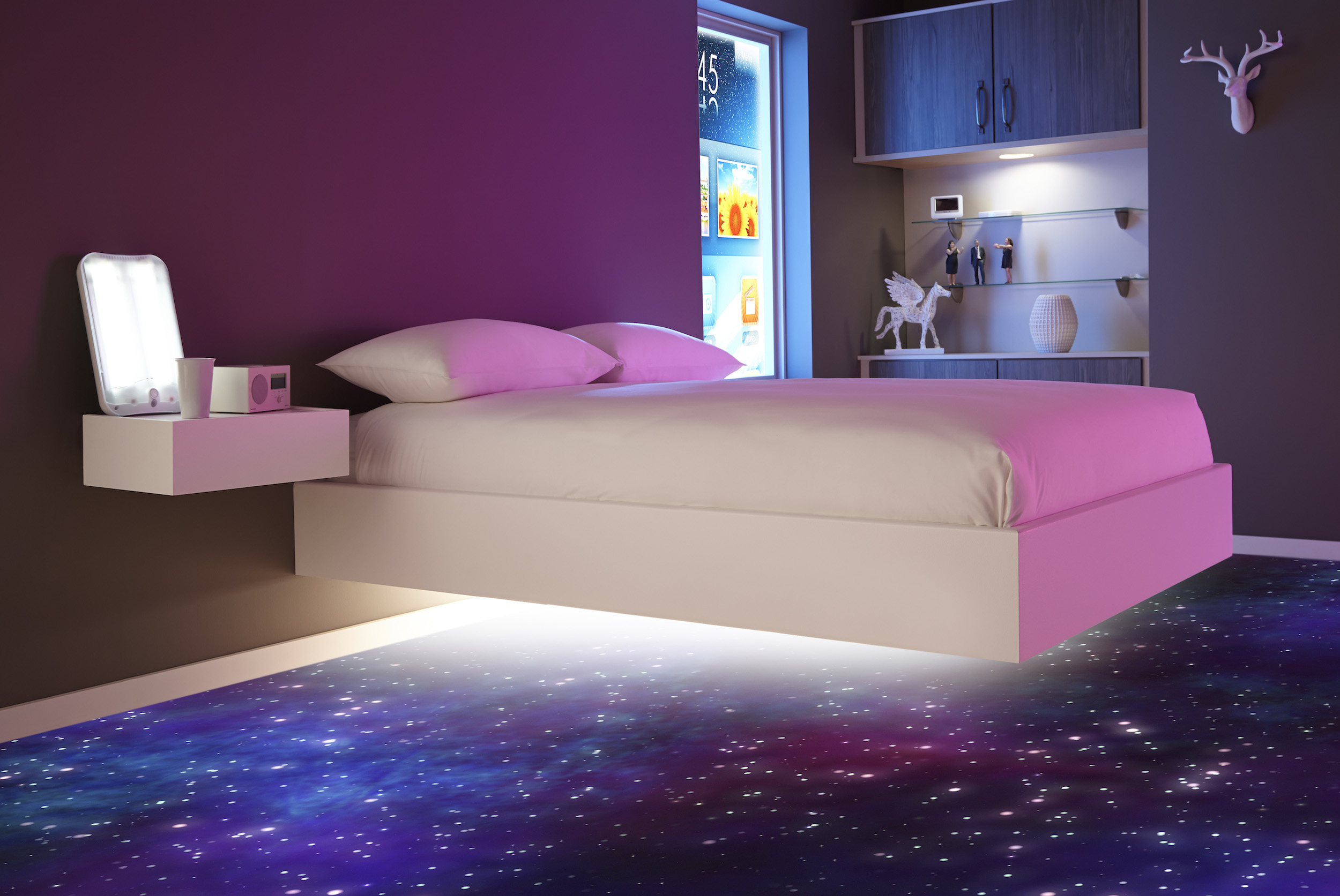 The Bedroom Of Future Win GBP1500 Worth Gadgetry