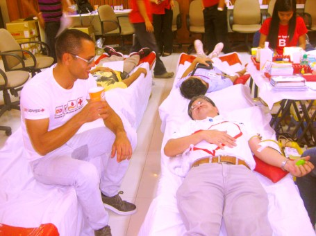Dunkin' Donuts Bloodletting (1)