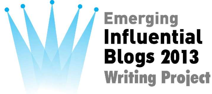 Emerging Influential Blogs 2013