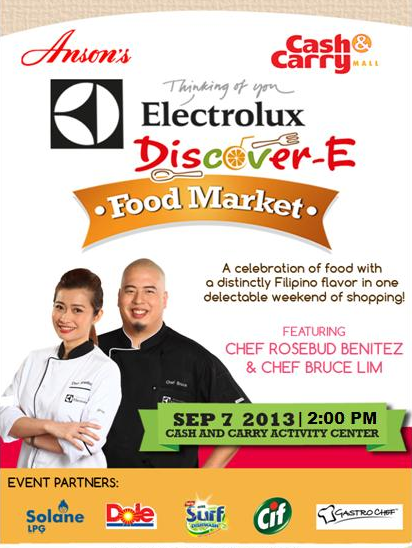 Electrolux Discover-E Food Market
