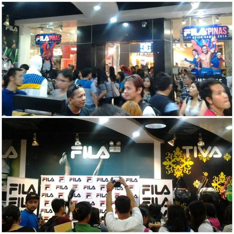 FILA store at SM Megamall