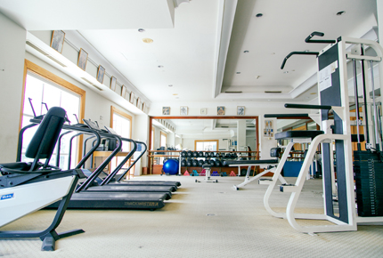 Subic Bay Yacht Club gym