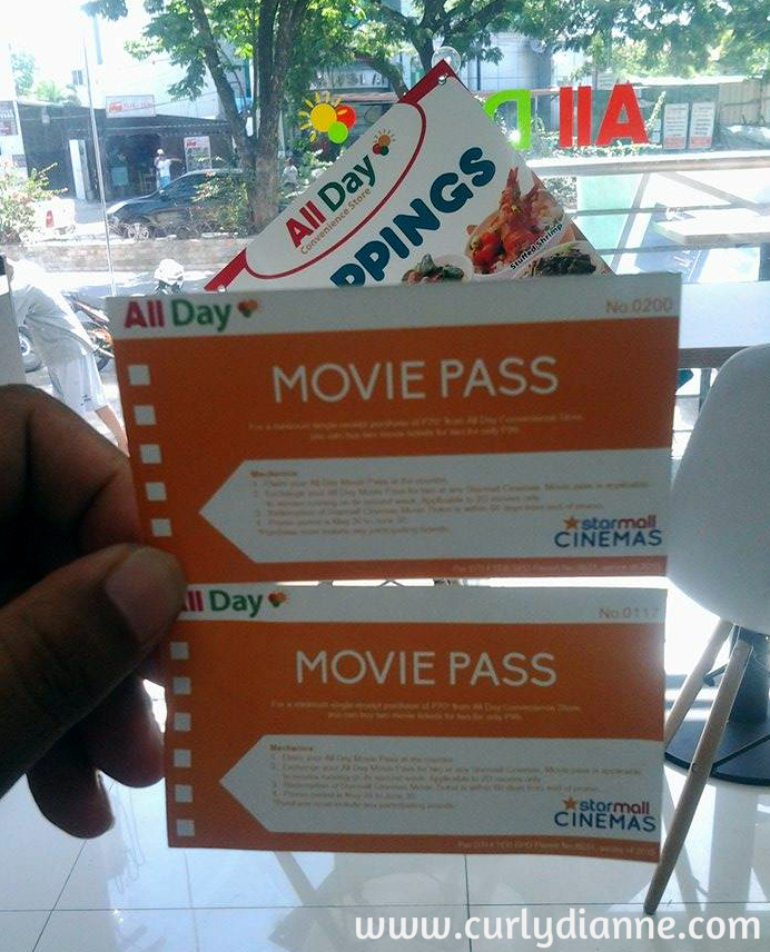 All day Movie Pass