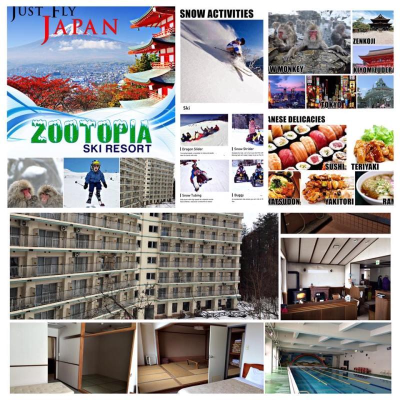 Zootopia Ski Resort Japan