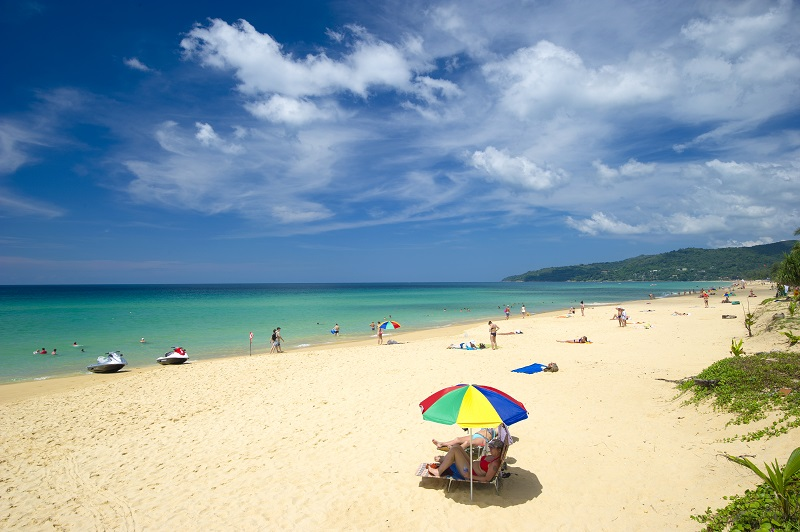 Karon Beach in one of the many beach fronts in Phuket. Photo is from the Tourism Authority of Thailand.