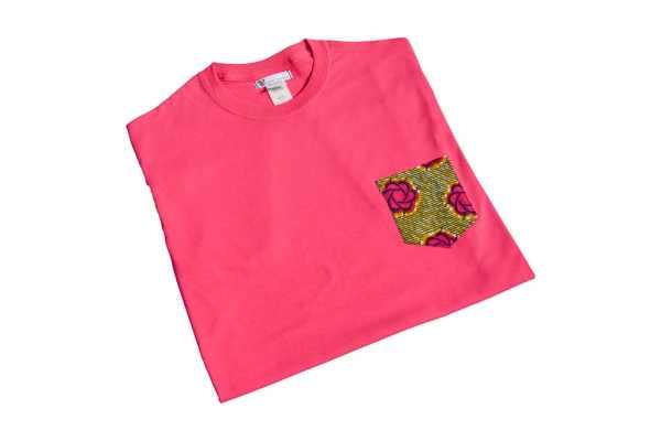 t-shirt boyfriend flora wax baumwolle curly nights