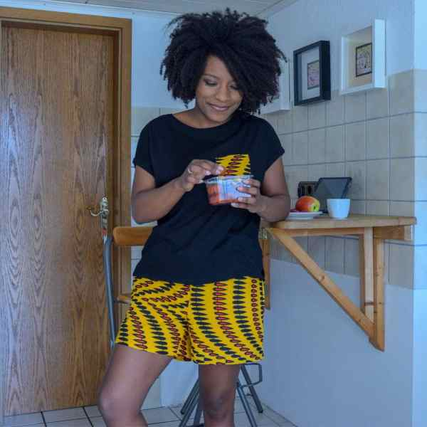 pyjama Curly Nights NAILS tshirt short wax