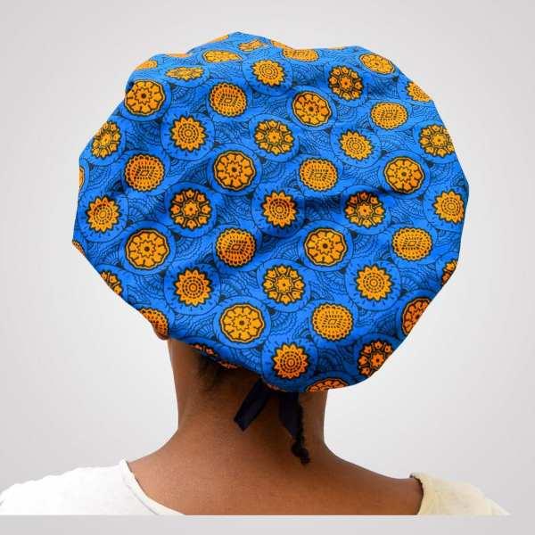 satin wax bonnet schlafhaube curly nights mandarine anpassbar premium