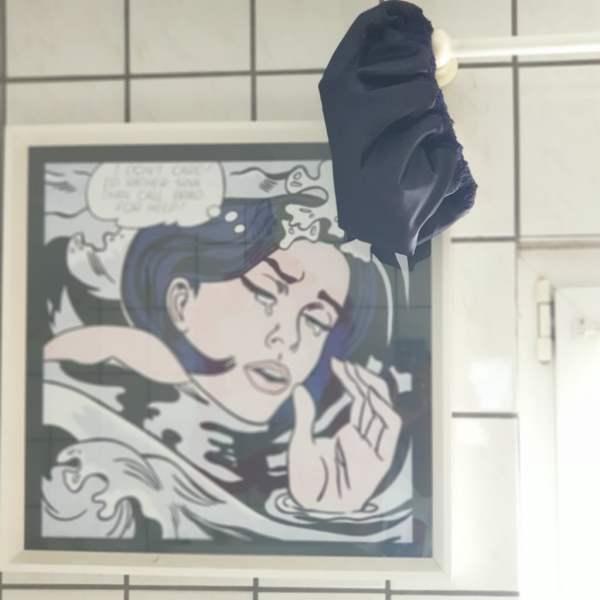 bonnet réversible salle de bains