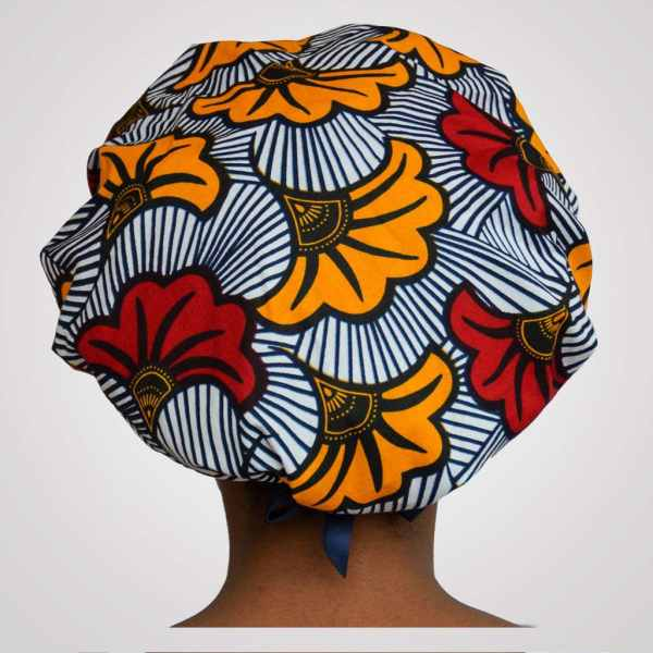 bonnet en satin wax réglable curly nights love fleurs de mariage