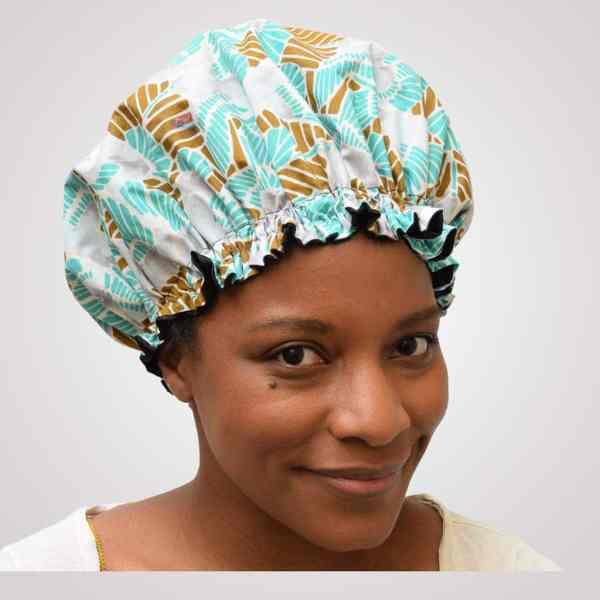 bonnet wax satin de nuit pour cheveux bouclés crépus curly nights DOUCEUR