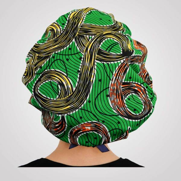 bonnet réglable satin wax pour la nuit curly nights TOURBILLON