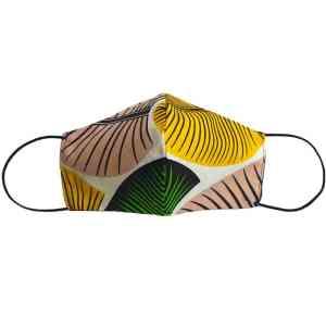 masque anti-projection lavable coton wax coronavirus covid-19 protection visage nez bouche
