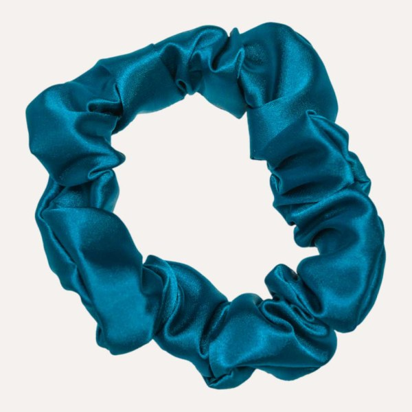 scrunchie xxl satin curly nights fidjiblau
