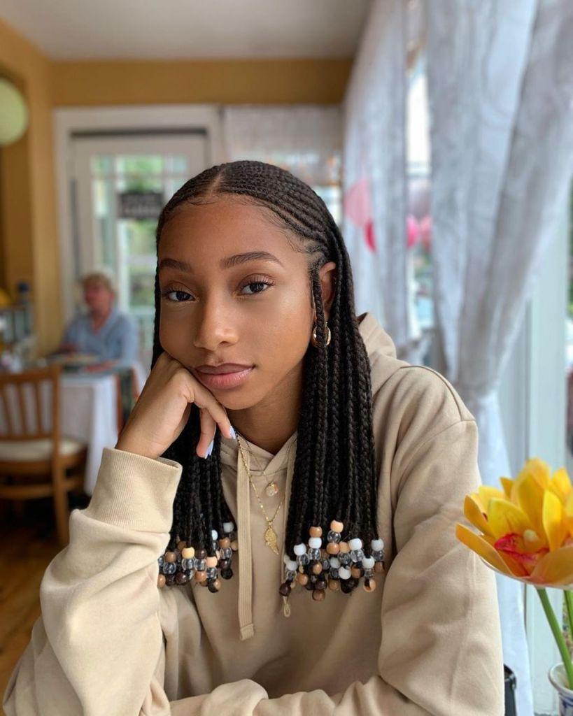 Fulani Braids, braids, mèches, cheveux bouclés, cheveux crépus, cheveux texturés