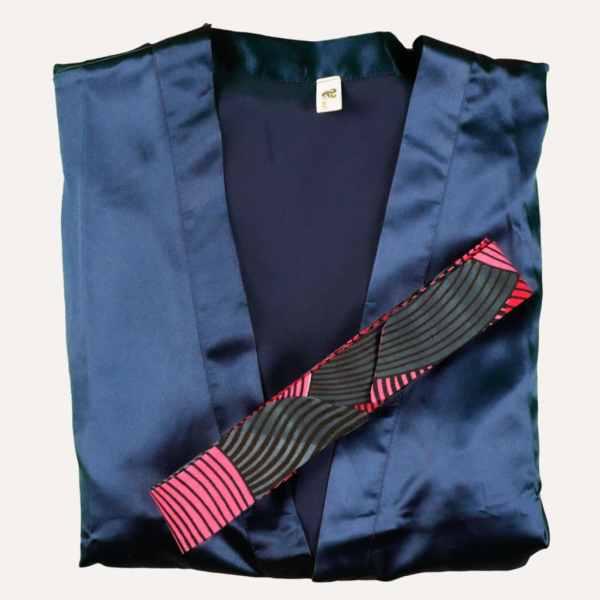 Kimono Satin Wax Valentine Curly Nights