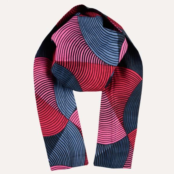 turban foulard satin curly nights VALENTINE