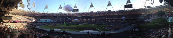 Scenes of the Olympic Stadium