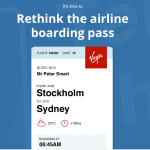 Peter Smart's Boarding Pass