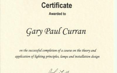World Lighting Industry Federation Design Certificate – 2007