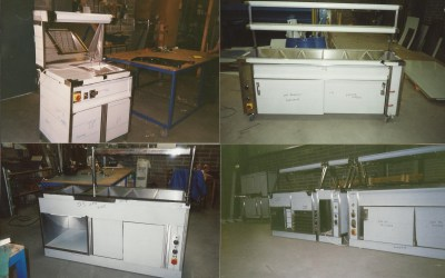 Stainless Steel Hot Cupboard Units